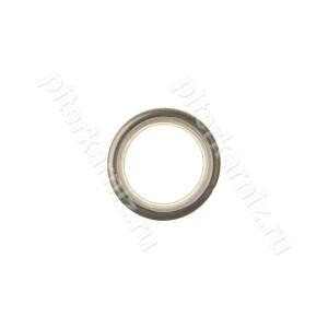 КОЛЬЦО металлическое (БЕСШУМНОЕ) для карниза 16 мм - ХРОМ МАТОВЫЙ