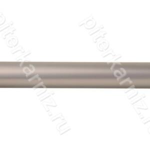 ТРУБА 16 мм Гладкая - ХРОМ МАТОВЫЙ - 160 см