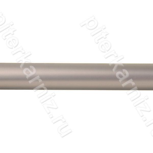 ТРУБА 16 мм Гладкая - ХРОМ МАТОВЫЙ - 280 см