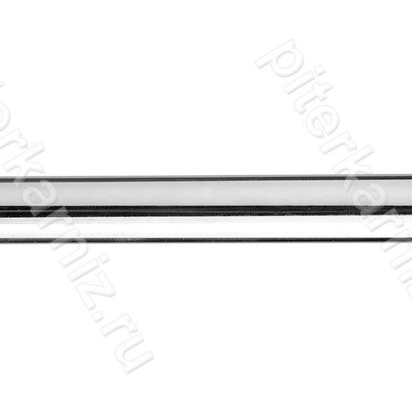ТРУБА 16 мм Гладкая - ХРОМ ГЛЯНЕЦ - 280 см
