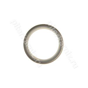 КОЛЬЦО металлическое (БЕСШУМНОЕ) для карниза 25 мм - ХРОМ МАТОВЫЙ