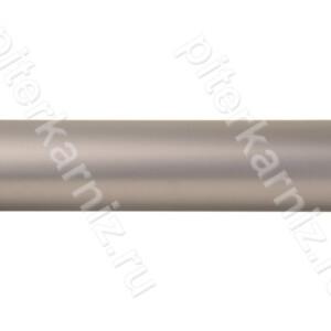 ТРУБА 25 мм Гладкая - ХРОМ МАТОВЫЙ - 160 см