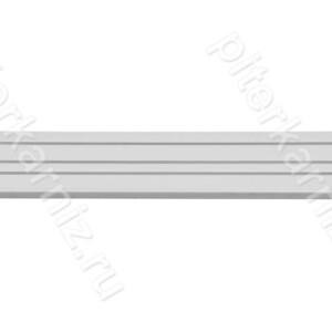 """КАРНИЗ - """"ПОТОЛОЧНАЯ ШИНА"""" 3 ряда прямая (крючки)"""