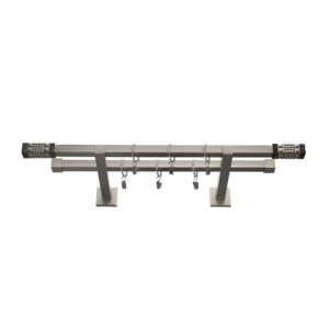 Карнизы металлические «Модерн Квадро» 20 мм